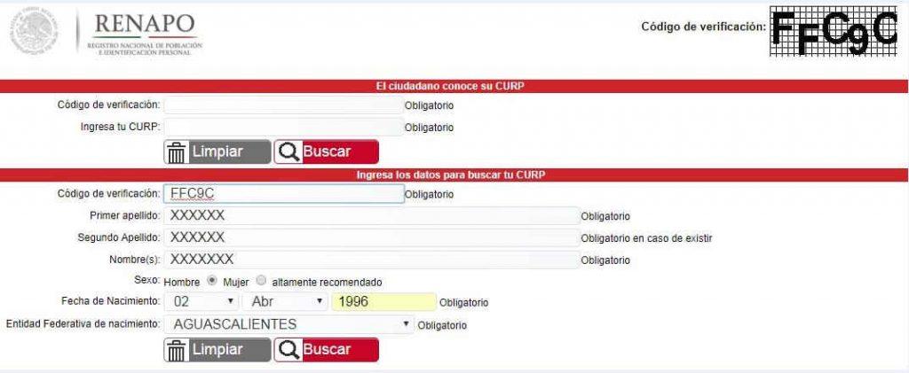 Cómo Consultar o Imprimir el CURP Gratis (imprimir paso 2)