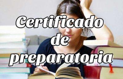 Cómo Sacar o Recuperar un certificado de preparatoria fácilmente