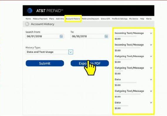 Cómo consultar el Saldo en AT&T 3