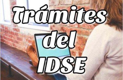 Trámites del IDSE