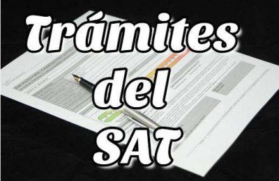 Trámites del SAT Servicio de Administración Tributaria