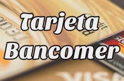 tarjeta bancomer