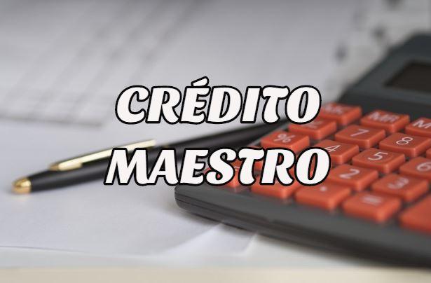 crédito maestro