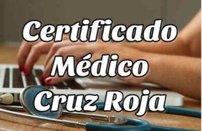 certificado médico cruz roja 1